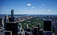 Central Park from Top of the Rock | New York