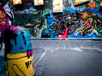 Melbourne's Graffiti Laneways - Hosier Lane.