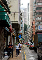 Hong Kong City Streets